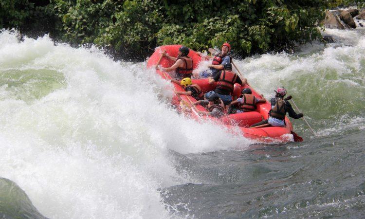White Water Rafting in Uganda