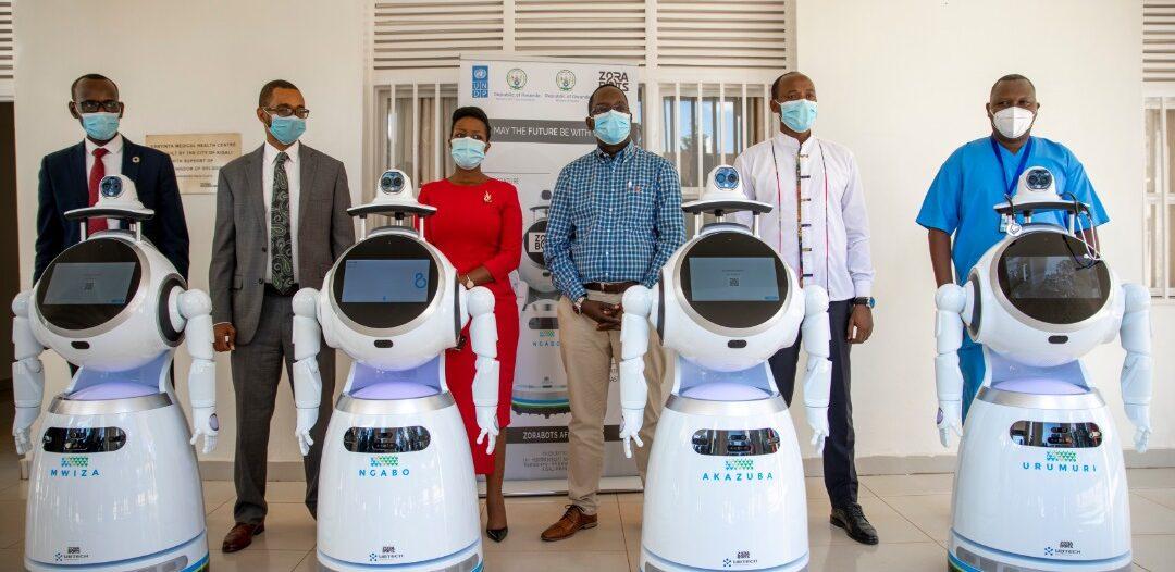 covid-19 robot-Rwanda