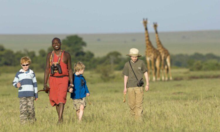 Social distancing Africa safari